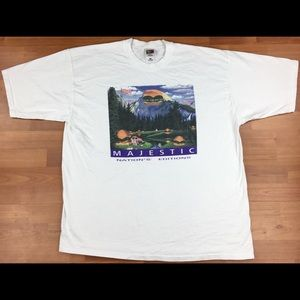 Vintage Majestic Nation's Editions Graphic T-Shirt